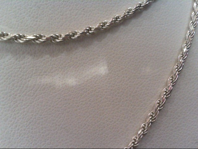 Silver Rope Chain 925 Silver 7.4g