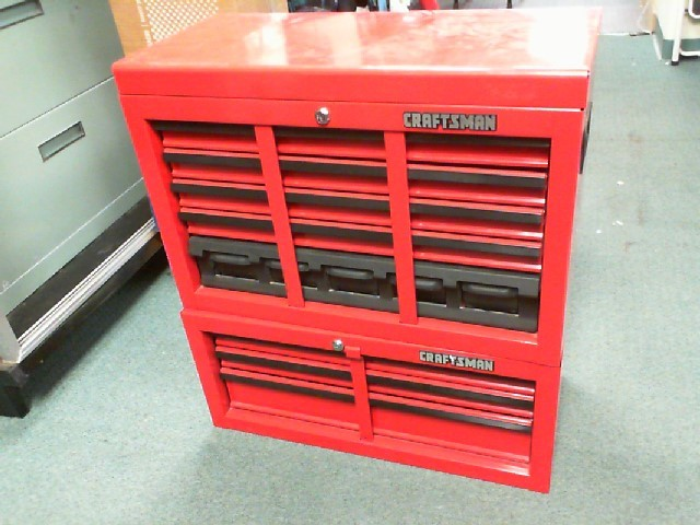CRAFTSMAN 8 DRAWER TOOL BOX
