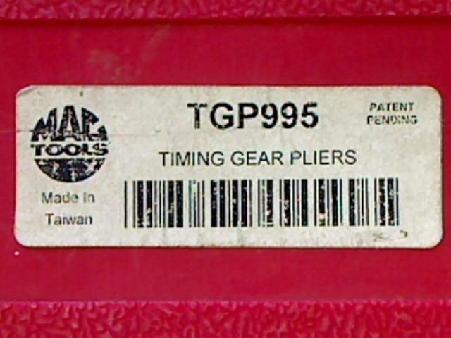 MAC TGP995 TIMING GEAR PLIERS