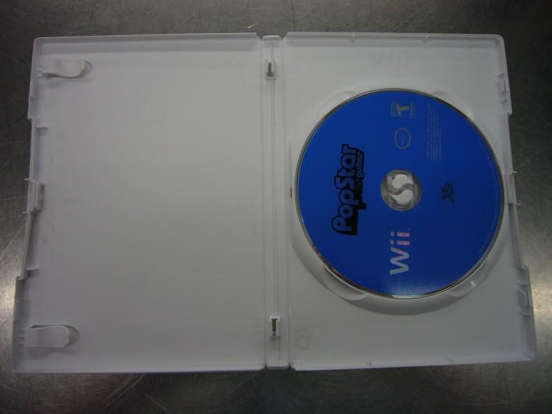 NINTENDO Wii Game POP STAR GUITAR