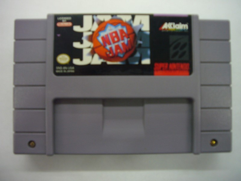 NINTENDO Nintendo SNES Game NBA JAM SNES