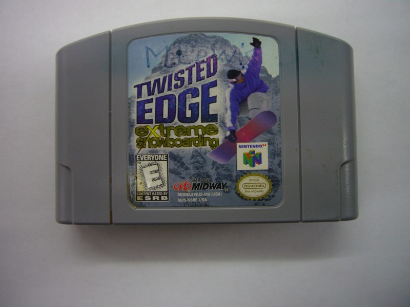 NINTENDO 64 Game TWISTED EDGE EXTREME SNOWBOARDING *CARTRIDGE ONLY*