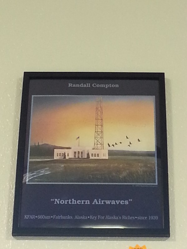 "RANDALL COMPTON ""NORTHERN AIRWAVES"""