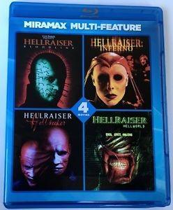 BLU-RAY MOVIE Blu-Ray MIRAMAX MULTI-FEATURE HELLRAISER