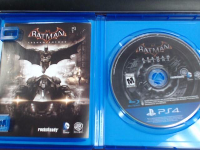 SONY PS4 BATMAN ARKHAM KNIGHT PLAYSTSATION 4