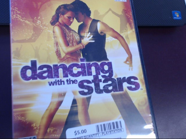 SONY PS2 DANCING WITH THE STARS