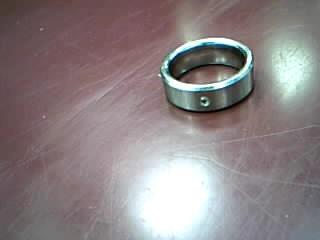 Gent's Diamond Ring .05 CT. Silver Tungsten 12.29g
