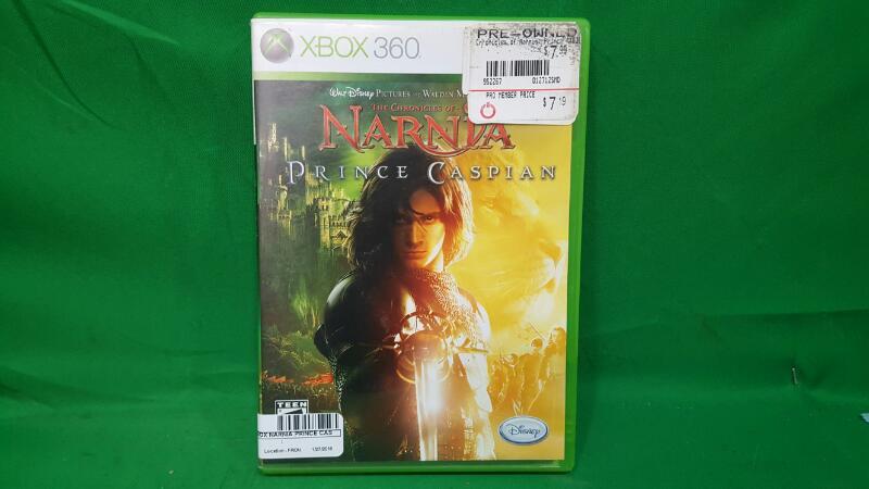 MICROSOFT Microsoft XBOX Game NARNIA PRINCE CASPIAN