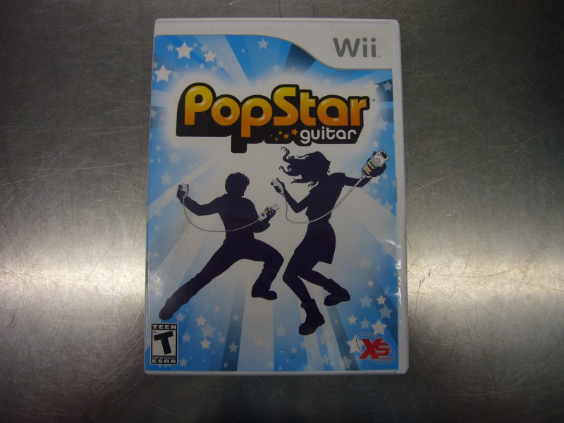 NINTENDO Wii Game POP STAR GUITAR