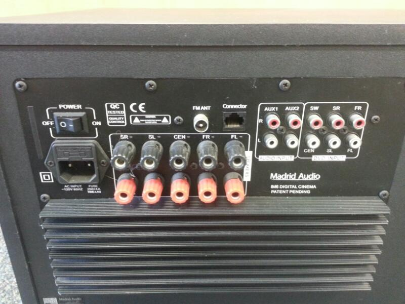 MADRID Surround Sound Speakers & System IM6]