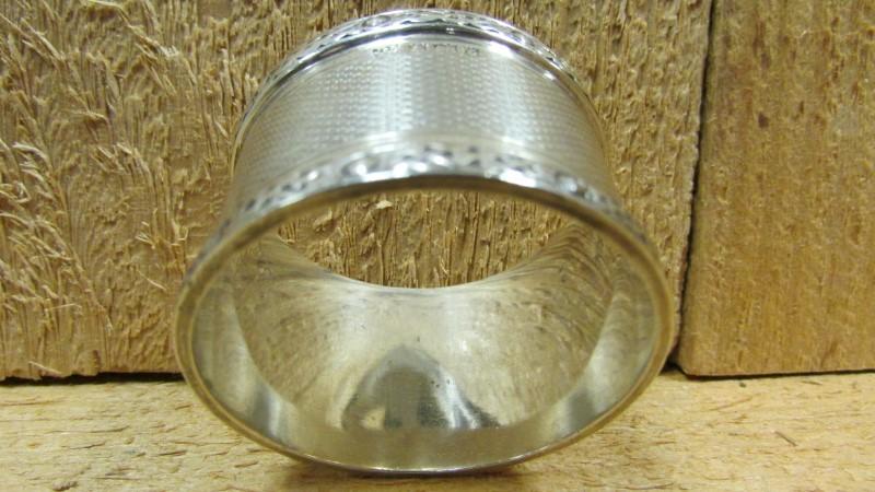 Antique JB CHATTERLEY Flatware SILVER NAPKIN RING