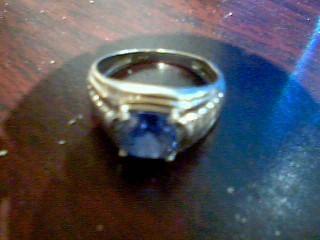 Gent's Gold Ring 10K White Gold 2.5g