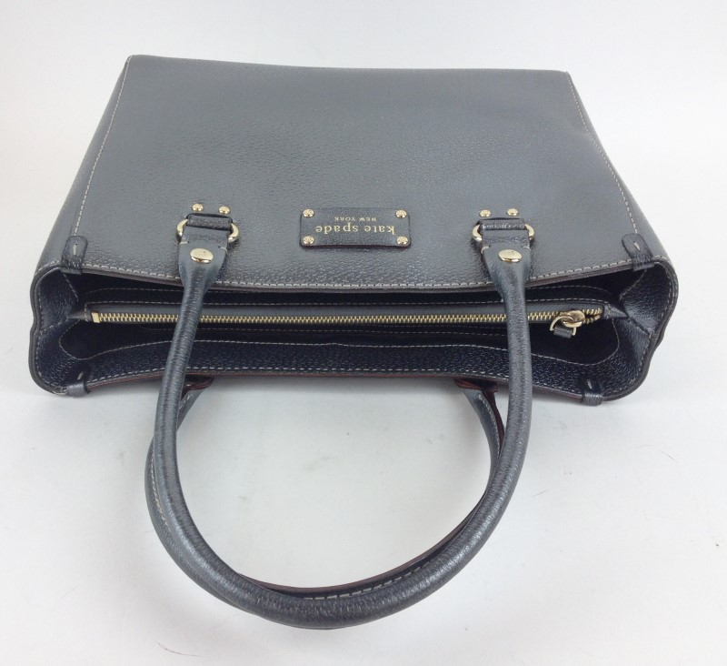 KATE SPADE PARK AVENUE METALLIC HANDBAG