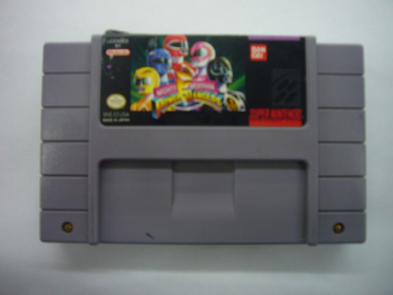SNES MIGHTY MORPHIN POWER RANGERS *CARTRIDGE ONLY*