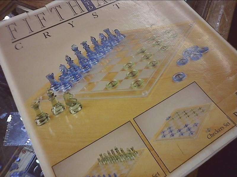 FIFTH LTD AVENUE CRYSTAL Game GAME SET GAME SET