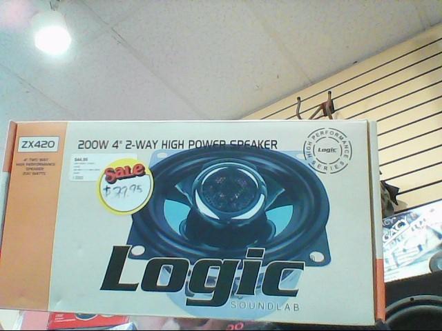 LOGIC Car Speakers/Speaker System ZX420