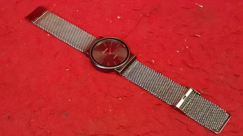 GENEVE Gent's Wristwatch PLATINUM 9697