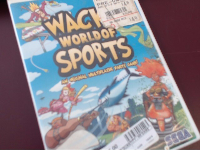 WII WACKY WORLD OF SPORTS