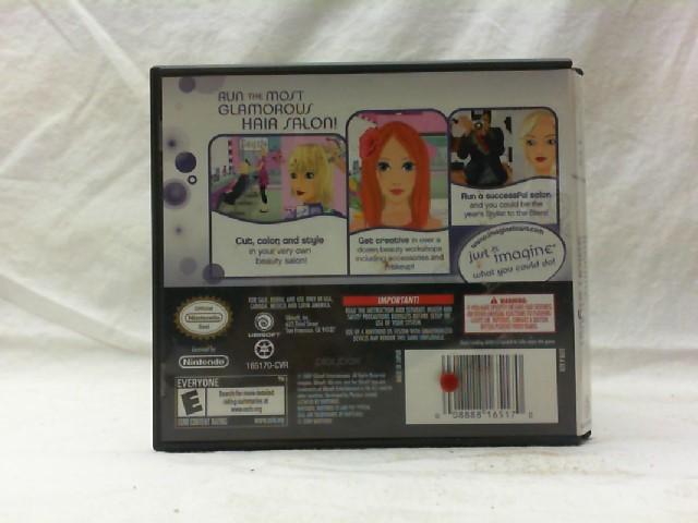 NINTENDO Nintendo DS Game IMAGINE SALON STYLIST
