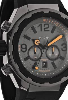 NIXON STEELCAT SUBMERGE QUARTZ WATCH