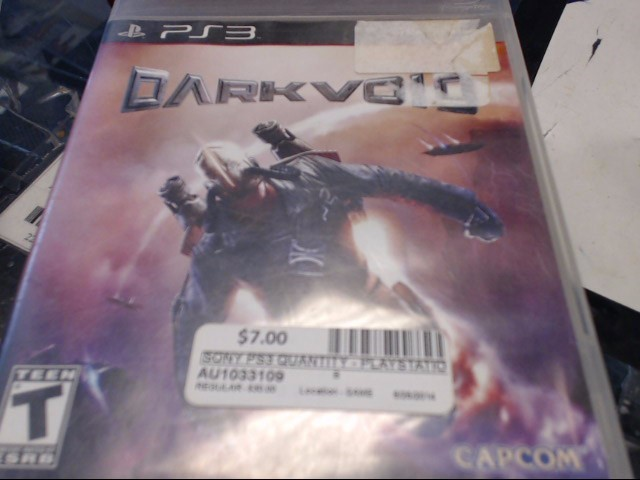 SONY PS3 DARKVOID