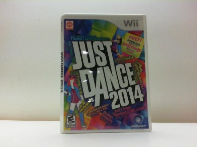 NINTENDO Nintendo Wii Game JUST DANCE 2014