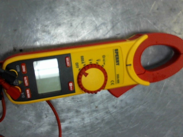 SPERRY INSTRUMENTS Multimeter DSA-660