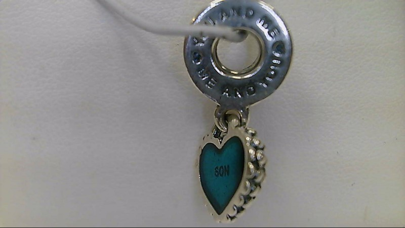 Pandora Silver Heart Son Charm 925 Silver 3.2g