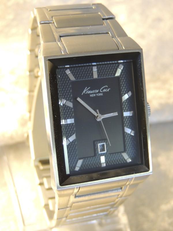 Kenneth Cole New York Men's KC3825 Classic Silver-Tone Bracelet Watch