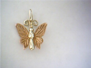 Gold Pendant 14K Yellow Gold 0.6g