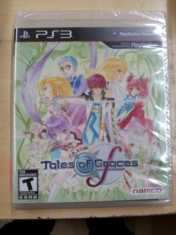 SONY Sony PlayStation 3 Game TALES OF GRACES