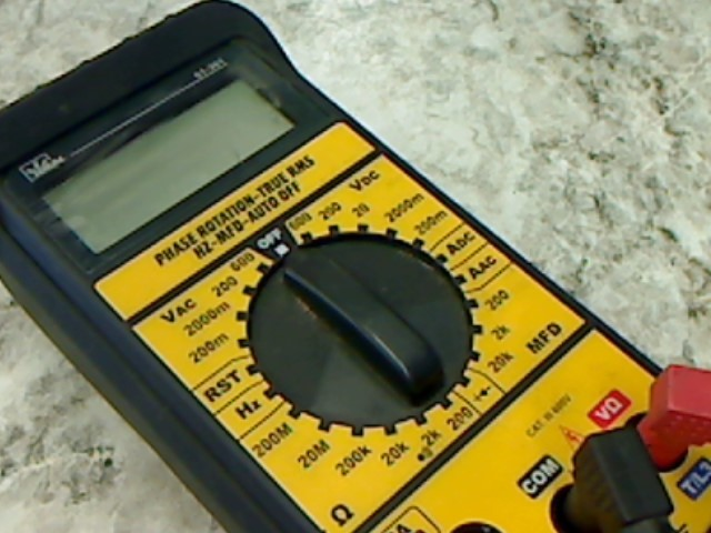 IDEAL INDUSTRIES MULTIMETER 61-3