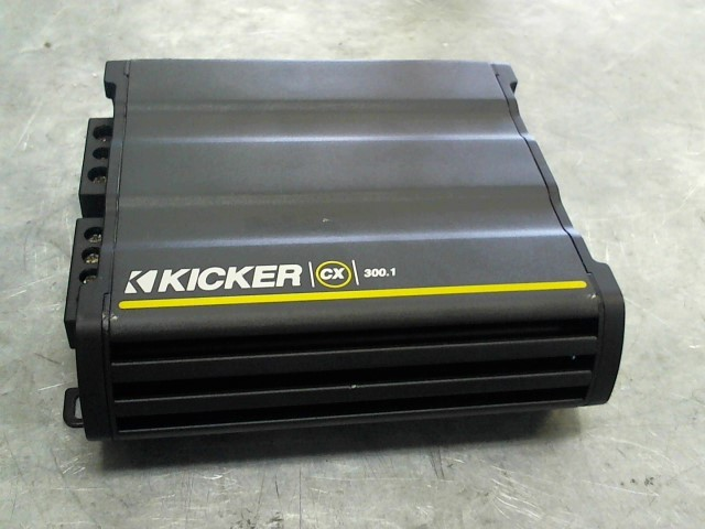 KICKER Car Amplifier CX300.1 AMP