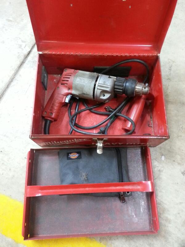 MILWAUKEE Hammer Drill 5392-1