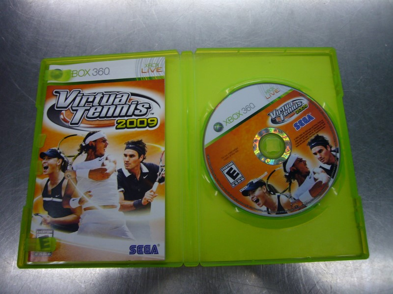 MICROSOFT XBOX 360 Game VIRTUA TENNIS 2009