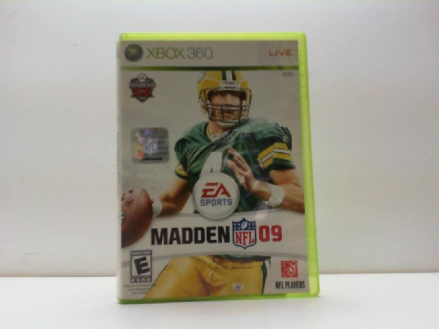 MICROSOFT Microsoft XBOX 360 Game MADDEN 09