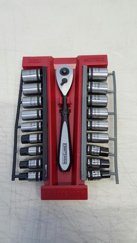 DRILL, CRAFTSMAN 19PC SOCKET SET