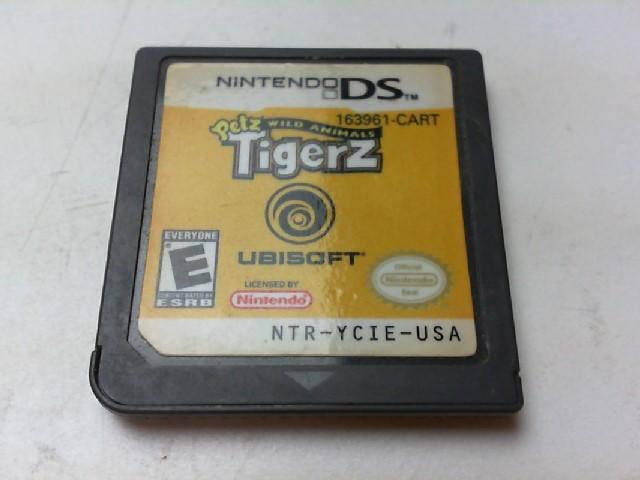 NINTENDO Nintendo DS Game PETZ WILD ANIMALS TIGERZ