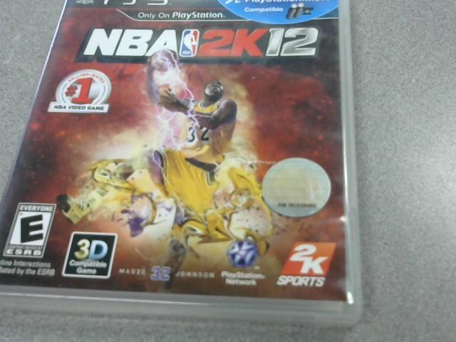 SONY Sony PlayStation 3 Game NBA 2K12