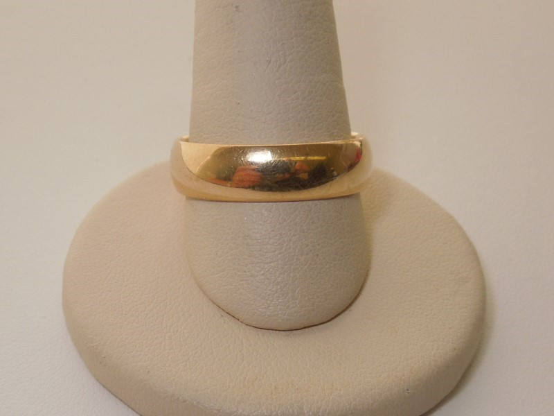 Gent's Gold Wedding Band 14K Yellow Gold 7.1g Size:11