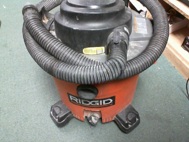 RIDGID TOOLS Vacuum Cleaner 12 GALON SHOP VAC