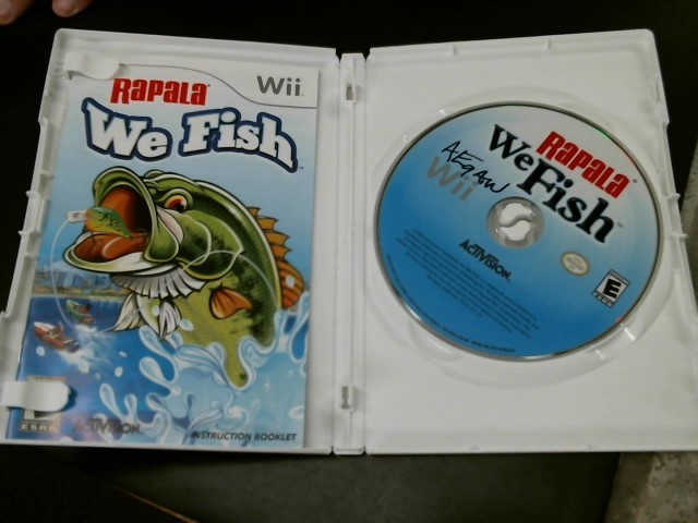 NINTENDO Nintendo Wii Game RAPALA WE FISH