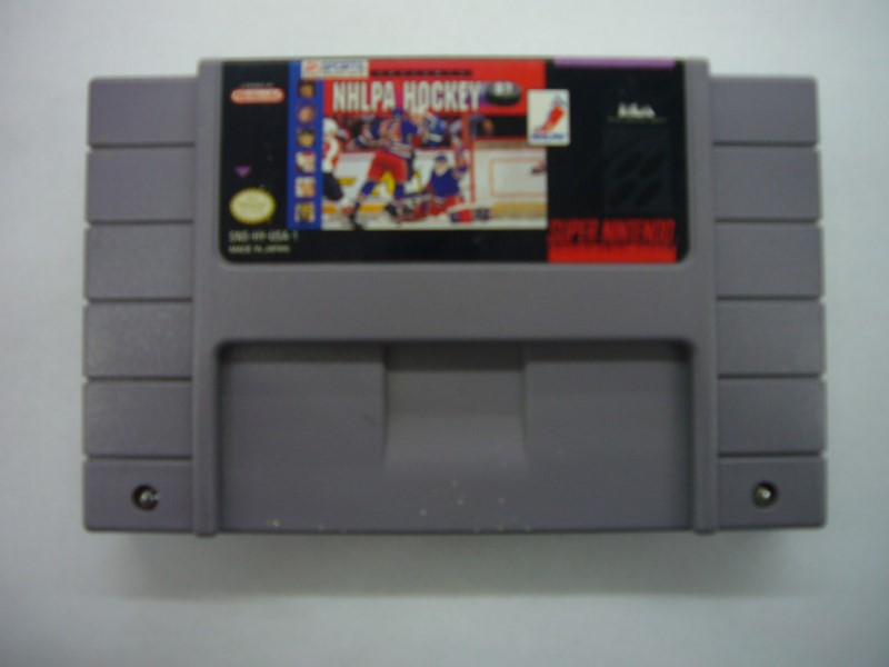 NINTENDO SNES Game NHLPA HOCKEY 93 *CARTRIDGE ONLY*