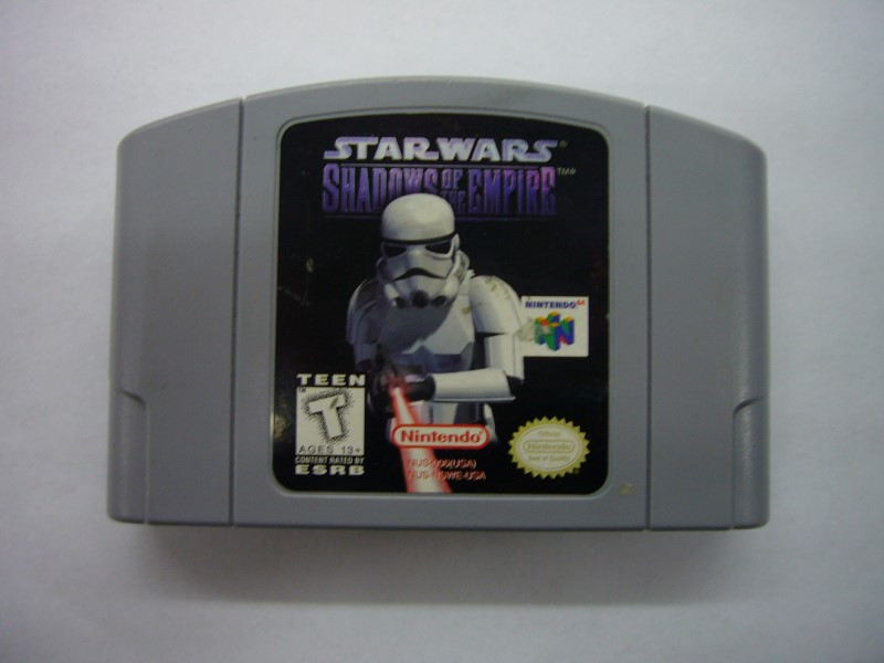 NINTENDO 64 Game STAR WARS: SHADOWS OF THE EMPIRE *CARTRIDGE ONLY*