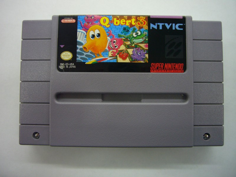 "SNES Q BERT 3 ""GAME ONLY"""