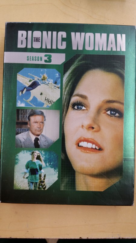 DVD BOX SET DVD THE BIONIC WOMAN SEASON 3