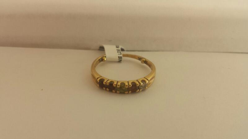 "14k Yellow Gold Ring ""Mother's Ring"""