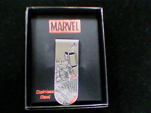 Money Clip Silver Stainless 10.9g