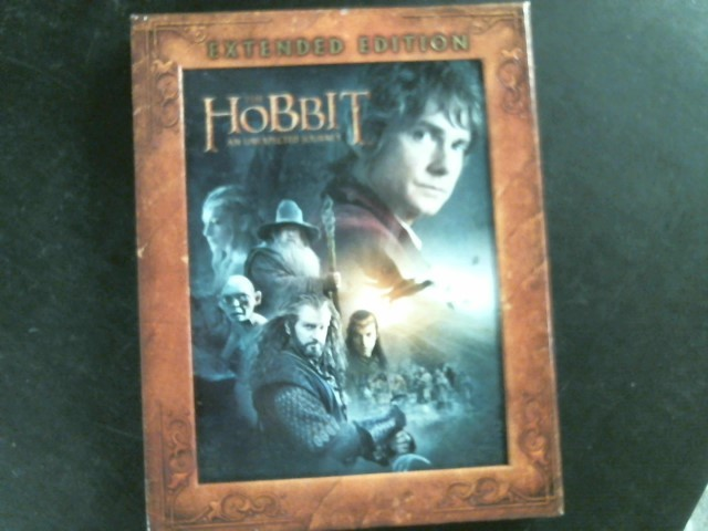BLU-RAY MOVIE Blu-Ray THE HOBBIT AN UNEXPECTED JOURNEY