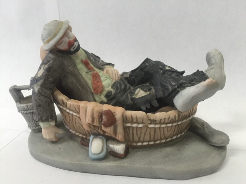 "EMMETT KELLY JR ""SATURDAY NIGHT"" Figurine"